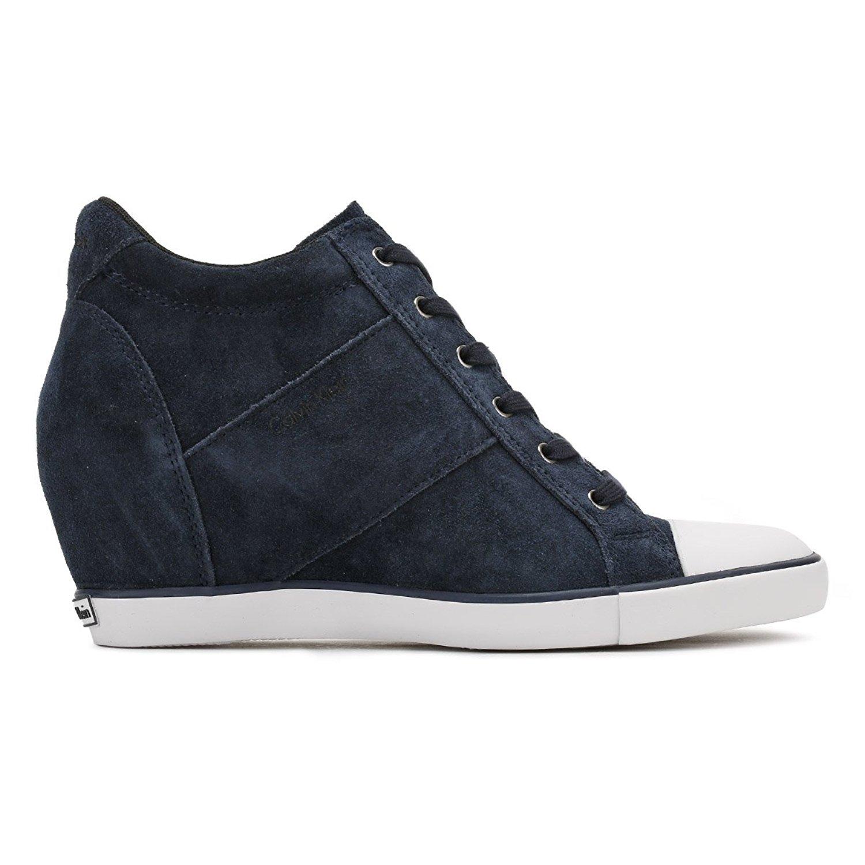 Calvin Klein Jeans Sneaker Baskets Femmes Voss Suede Re9359 mP0LokFBHz