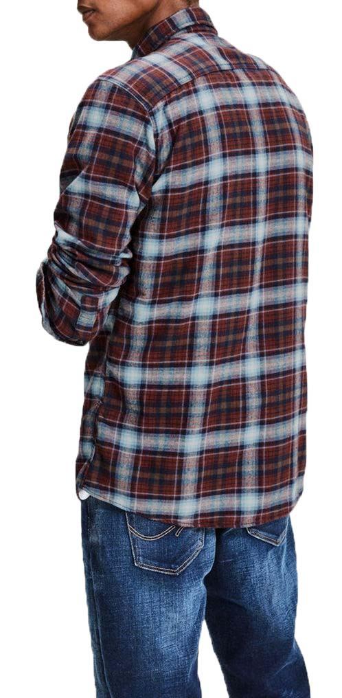 JACK-JONES-MEN-039-S-LONG-SLEEVED-SHIRT-BAKER-SHIRT-ONE-POCKET-12121416-SLIM