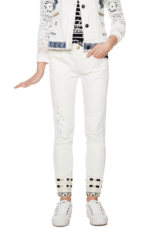 Women Desigual Jeans Ebay 18swdd22 Denim Luna Skinny pqqArd