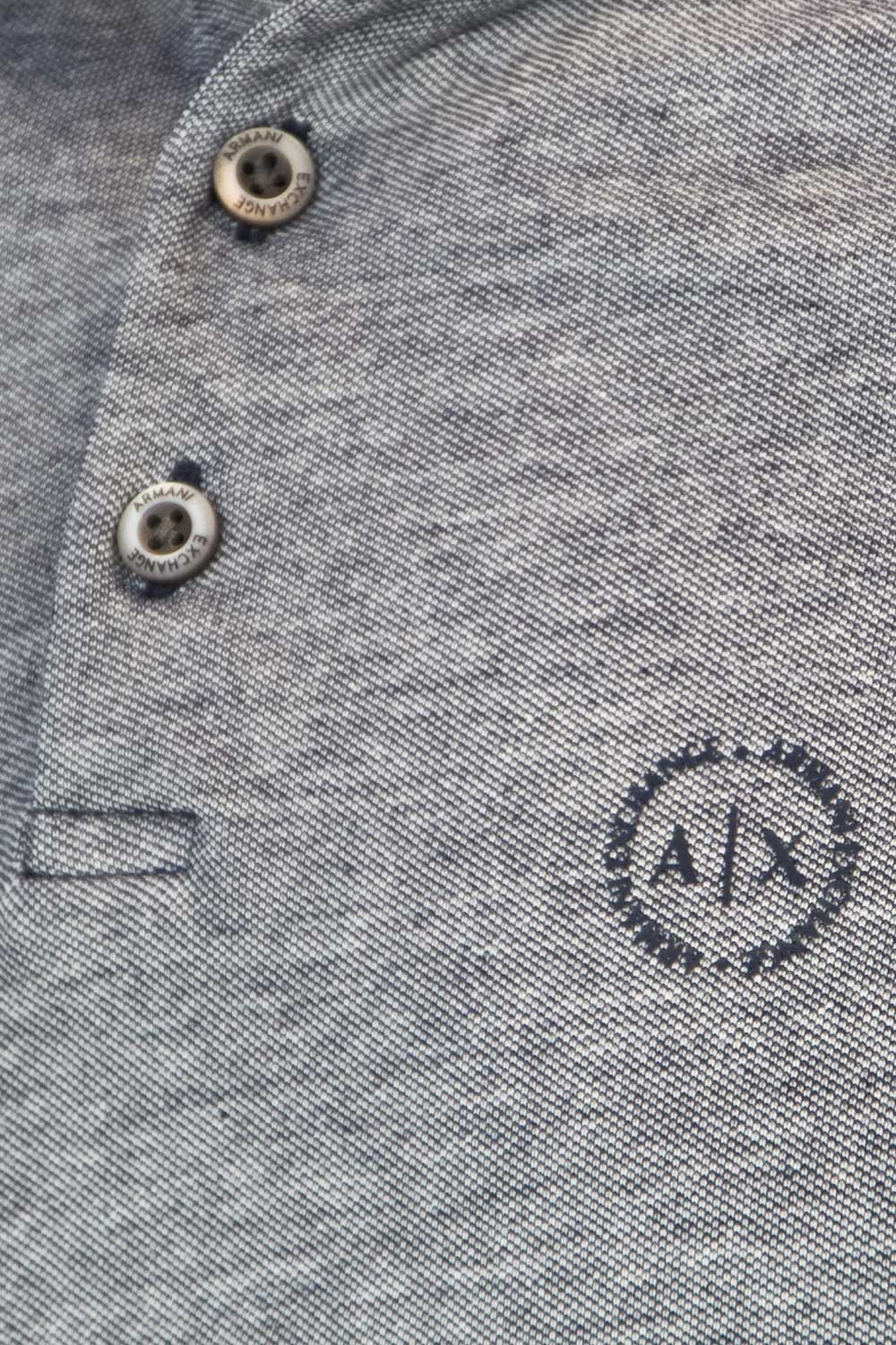 67f97be2e3 ARMANI EXCHANGE Men s POLO SHIRT T-SHIRT 8NZF76 Z8M5Z