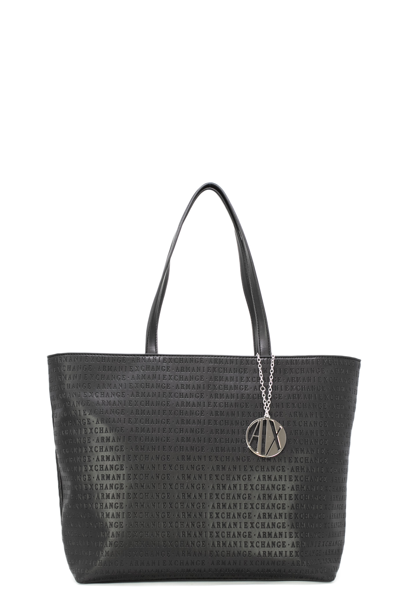 52d4ba6b1 Details about Armani exchange Zip top bag shopping bag 942426 cc714