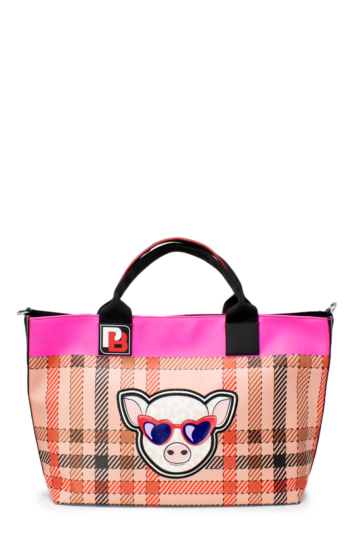 Details zu Pinko Tasche damen Fortuna Shopping 1H20MQ Y5CM