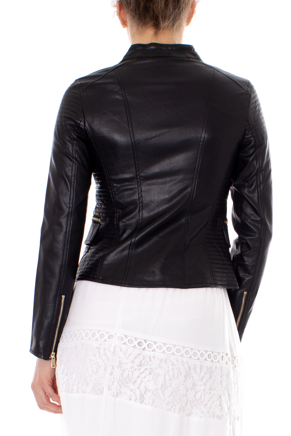 lowest price ce170 058cb Details about Guess Giacchetto donna Fannie Jacket W92L37 W9VO0