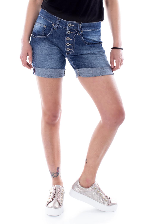 Please-Woman-jeans-shorts-p88-e02-p88abq2e02 miniatura 2