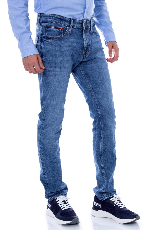 Tommy Hilfiger Jeans Slim Scanton W30 L34 Denim Herren Hose Dark Blue Stretch