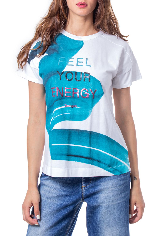 DESIGUAL Damen Shirt Sleeve Gr.M*NEU*1