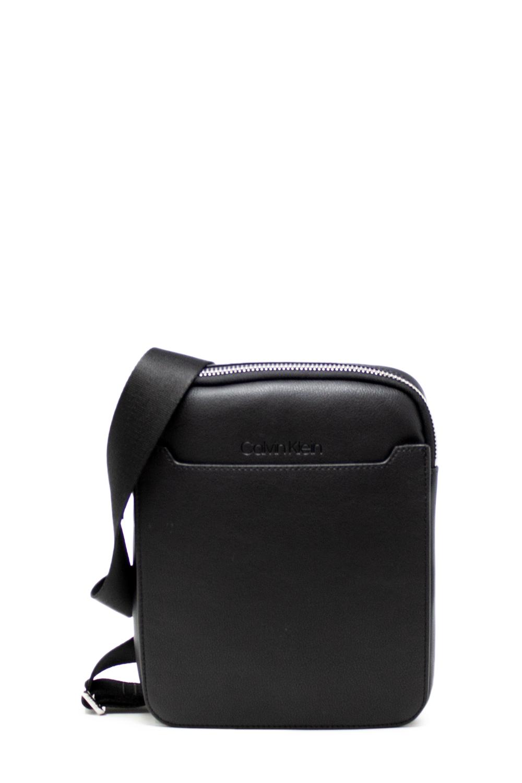 exzellente Qualität großer Rabatt uk billig verkaufen Details zu Calvin Klein Tasche herren sliver flat crossover k50k504606