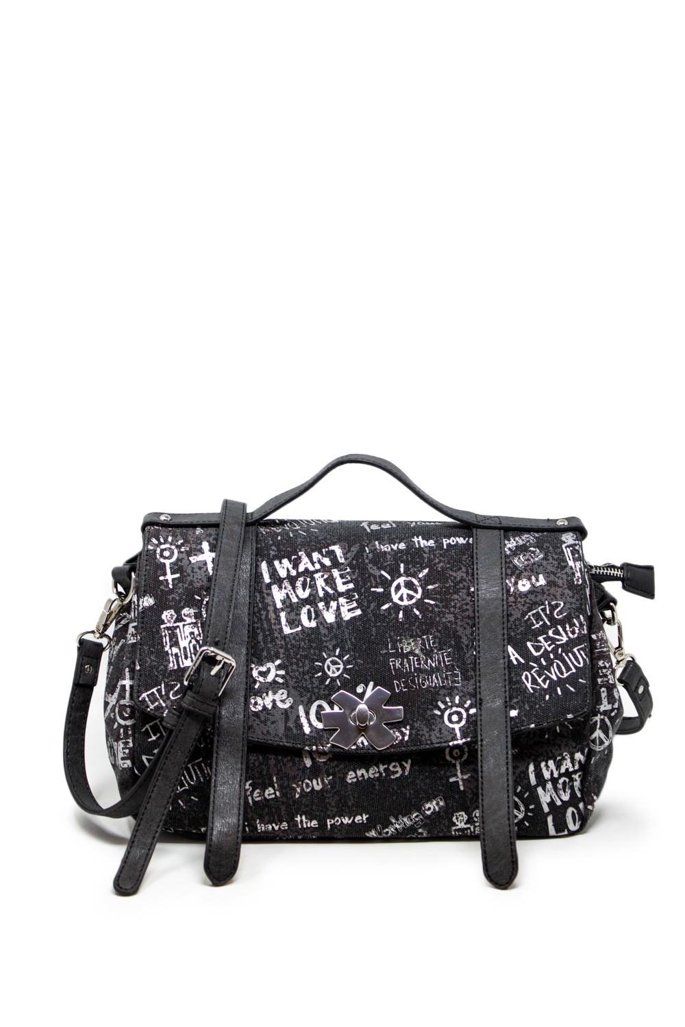 BORSA ARTY MESSAGE CRAFT COLORADO DESIGUAL