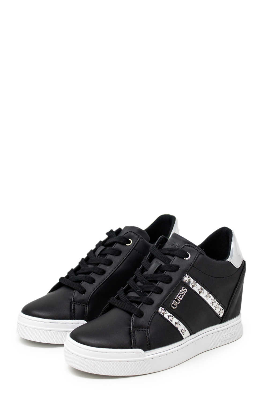 Dettagli su Sneakers Donna GUESS fayne fl5fayele12