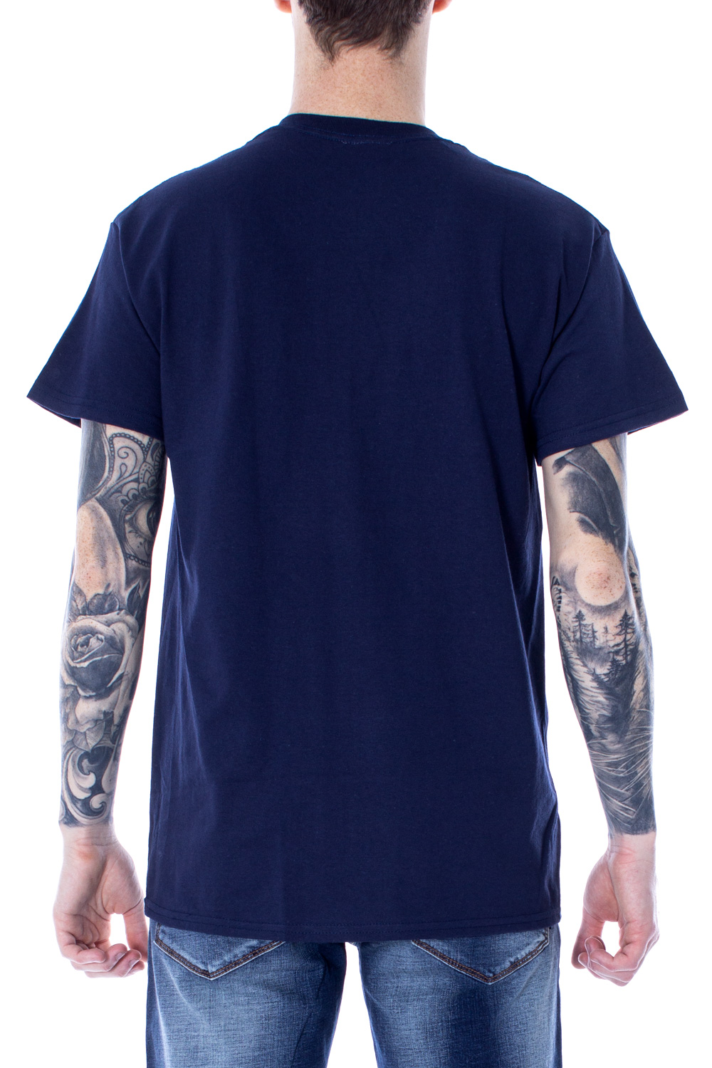 Thrasher t shirt Thrasher blu flame logo color 110102