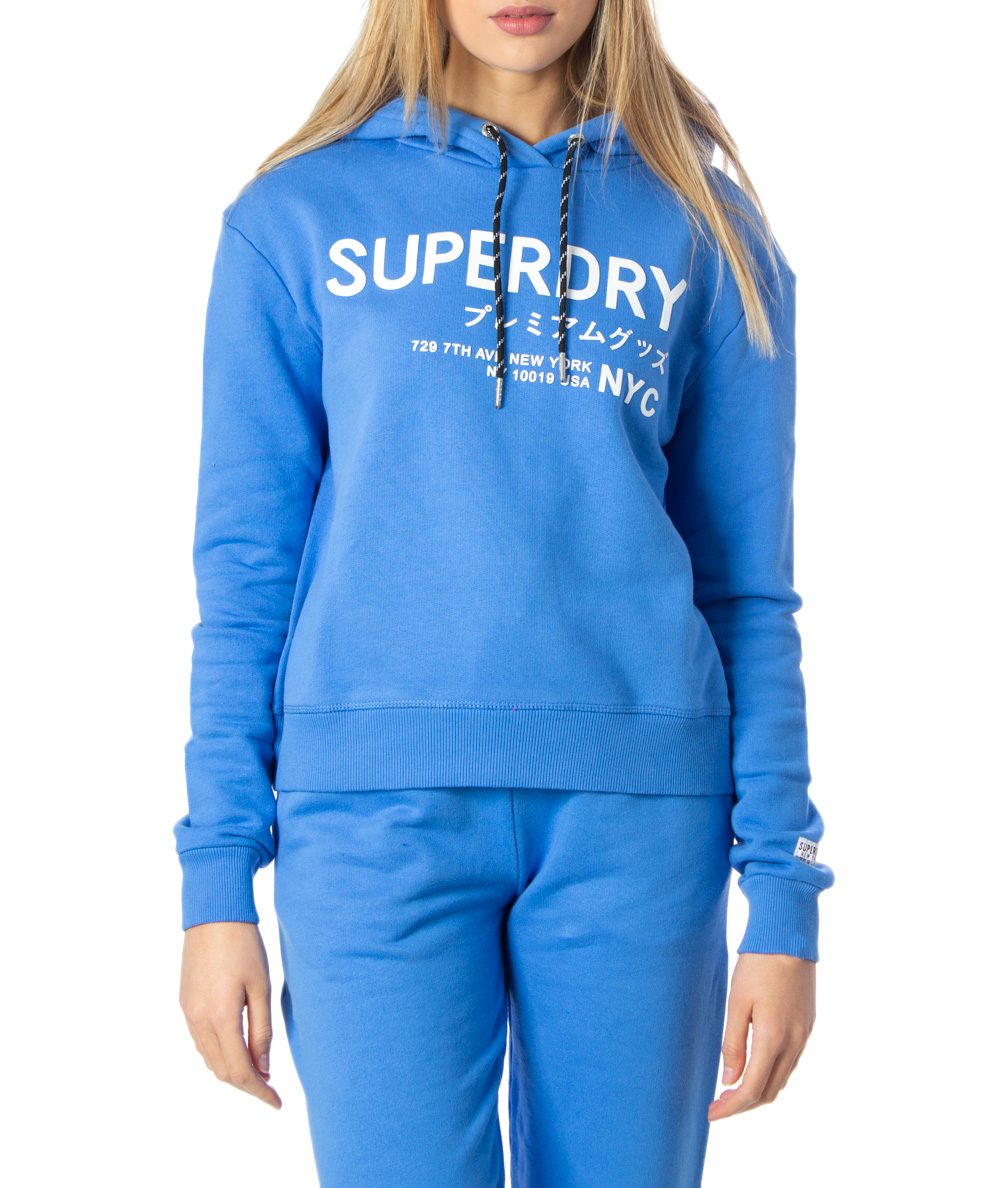 Sweat à Capuche Femme Superdry Vintage Logo Pop Entry Hood G20123nu